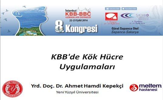 KBB'de Kök Hücre Uygulamaları